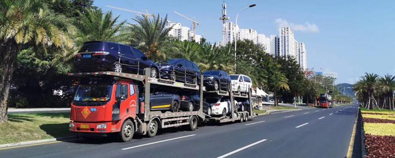 杭州到金华托运汽车多少钱 杭州到金华托